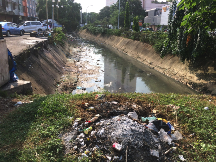 Urban drainage in Nygoya area, Batam